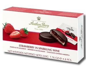 Anthon Berg Strawberry in Sparkling Wine 220g