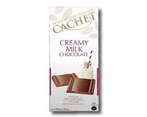 Cachet Milk Chocolate 100g