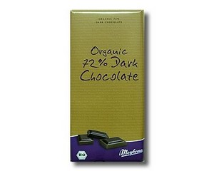 Meybona 72% Organic Dark Chocolate 100g