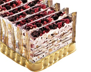 Quaranta soft Italian Nougat (Country Berries) 150g