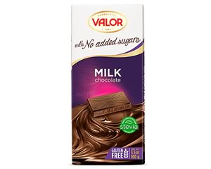 Valor (Sugar Free) Milk Chocolate bar 100g