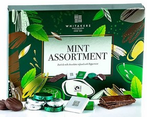 Whitakers Mint Chocolate Assortment 225g